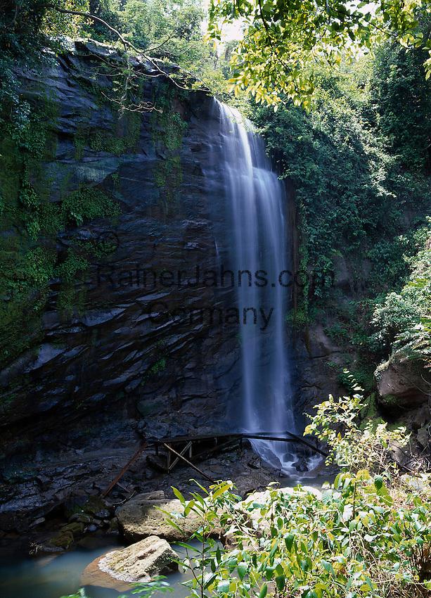 Karibik, Kleine Antillen, Grenada: Mount Carmel Wasserfall | Caribbean, Lesser Antilles, Grenada: Mount Carmel Waterfall
