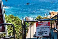 Goff Cove Beach Laguna Beach Beaches, seaside resort, artist community, located in southern, Orange County, California, United States