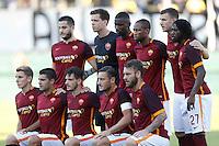 durante l'incontro di calcio di Serie A   Frosinone - Roma   allo  Stadio Matusa di   di Frosinone ,12  Settembre 2015