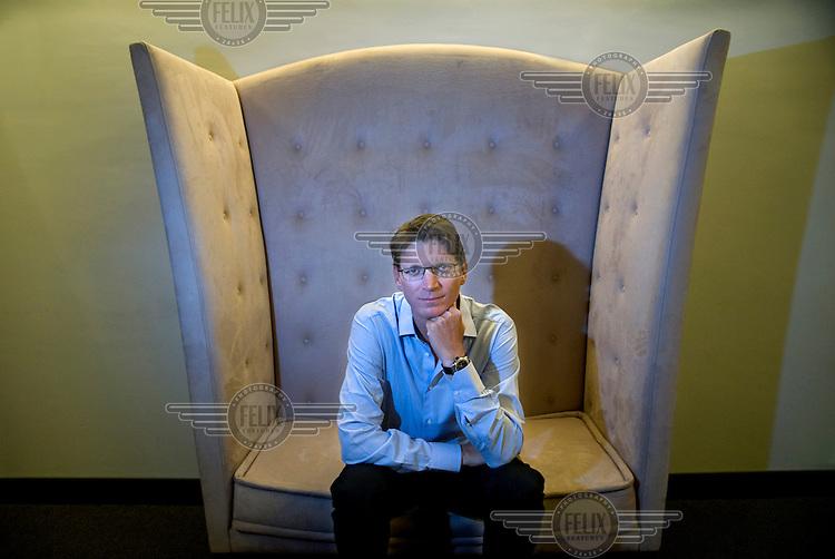 Entreprenour Niklas Zennstrom, co-founder of Skype.