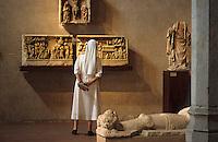Europe/France/Midi-Pyrénées/31/Haute-Garonne/Toulouse: Musée des Augustins - Exposition de sculptures gothiques