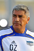 Octavio Zambrano-Asst Coach Kansas City Wizards...Kansas City Wizards and Real Salt Lake played to a 1-1 tie at Community America Ballpark, Kansas City, Kansas.