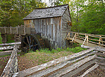Great Smoky Mts. National Park, TN/NC<br /> John Cable grist mill in Cades Cove