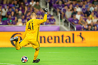 Orlando, FL - Wednesday July 10, 2019: 2019 US Open Cup Quarterfinal  home game between Orlando City SC and NYCFC at Exploria Stadium