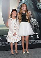 "Westwood, CA - NOVEMBER 06: Abigail Pniowsky, Anna Pniowsky at Premiere Of Paramount Pictures' ""Arrival"" At Regency Village Theatre, California on November 06, 2016. Credit: Faye Sadou/MediaPunch"