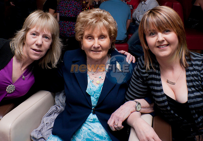 Ann, Anna and Bronagh at Patrick Maguire 60th Birthday party in Bru..Picture: Shane Maguire / www.newsfile.ie.