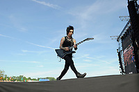 DERBY, ENGLAND - JUNE 10: Jake Pitts of 'Black Veil Brides ' performing at Download Festival, Donington Park on June 10, 2018 in Derby.<br /> CAP/MAR<br /> &copy;MAR/Capital Pictures