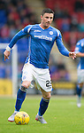 St Johnstone v Hamilton Accies...12.09.15  SPFL McDiarmid Park, Perth<br /> Michael O'Halloran<br /> Picture by Graeme Hart.<br /> Copyright Perthshire Picture Agency<br /> Tel: 01738 623350  Mobile: 07990 594431