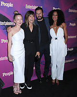 13 May 2019 - New York, New York - Allison Miller, Stephanie Szostak, James Roday and Christina Moses at the Entertainment Weekly & People New York Upfronts Celebration at Union Park in Flat Iron. Photo Credit: LJ Fotos/AdMedia
