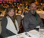 A photograph taken during the Eagles & Agriculture Falconers dinner on Friday, Jan. 26, 2018 in the Carson Valley.