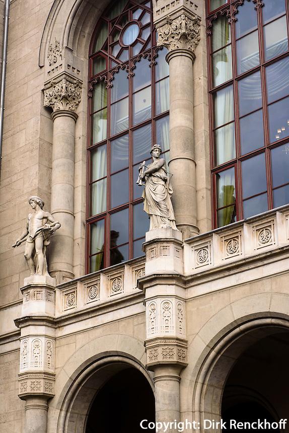 Pester Redoute, Pesti Vigadó am Vigadó tér, Budapest, Ungarn, UNESCO-Weltkulturerbe