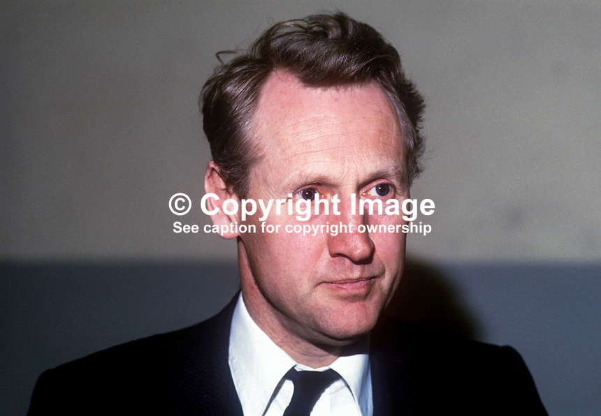 Lord James Douglas-Hamilton, MP, Conservative Party, UK. Represents Edinburgh West, Scotland. May, 1986, 19860506JDH<br /> <br /> Copyright Image from Victor Patterson, 54 Dorchester Park, <br /> Belfast, UK, BT9 6RJ<br /> <br /> t1: +44 28 9066 1296 (from Rep of Ireland 048 9066 1296)<br /> t2: +44 28 9002 2446 (from Rep of Ireland 048 9002 2446)<br /> m: +44 7802 353836<br /> <br /> e1: victorpatterson@me.com<br /> e2: victorpatterson@gmail.com<br /> <br /> www.victorpatterson.com<br /> <br /> Please see my Terms and Conditions of Use at VICTORPATTERSON.COM. It is IMPORTANT that you familiarise yourself with them.<br /> <br /> Images used on the Internet must be visibly watermarked i.e. &copy;VICTORPATTERSON.COM within the body of the image and copyright metadata must not be deleted. Images used on the Internet have a size restriction of 4kbs and are chargeable at the then current NUJ rates.<br /> <br /> This image is only available for the use of the download recipient i.e. television station, newspaper, magazine, book publisher, etc, and must not be passed on to any third party. It is also downloaded on condition that each and every usage is notified within 7 days to victorpatterson@me.com<br /> <br /> The right of Victor Patterson to be identified as the author is asserted in accordance with The Copyright Designs And Patents Act (1988).