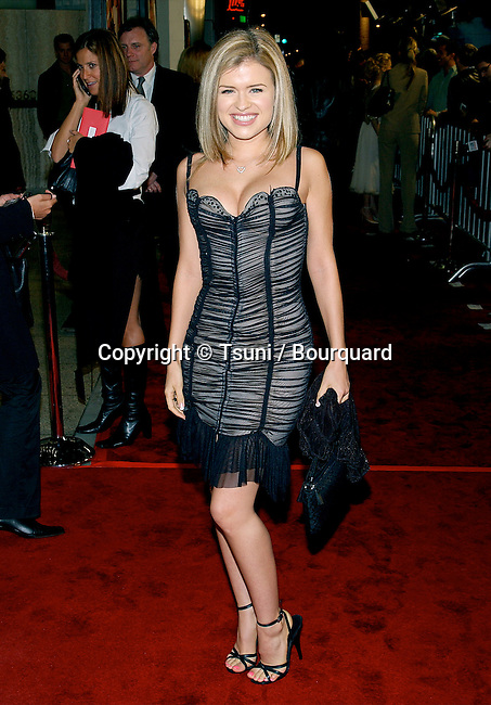 """Valeria arriving the premiere of """" Just Married"""" at the Pacific Cinerama Dome in Los Angeles. January 8, 2003."""