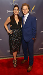 Stephanie J. Block and Sebastian Arcelus attends the 2017 Drama Desk Awards at Town Hall on June 4, 2017 in New York City.