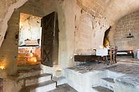 Hotel Sextantio suite - or cave 13, Matera, Basilicata, Italy