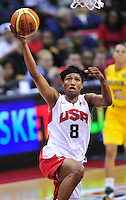 USA vs. Brazil, Women's Basketball - July 17, 2012