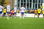 2015-10-25 / Voetbal / seizoen 2015-2016 / KSK Heist - K Lierse SK / Teleurstelling bij KSK Heist na de 0-1 van K Lierse SK<br /><br />Foto: Mpics.be