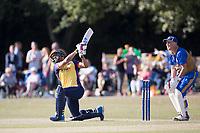 Ravi Bopara of Essex goes big during Upminster CC vs Essex CCC, Benefit Match Cricket at Upminster Park on 8th September 2019