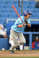 Daytona Cubs outfielder Pin-Chieh Chen (20) during a game against the Dunedin Blue Jays on April 14, 2014 at Florida Auto Exchange Stadium in Dunedin, Florida.  Dunedin defeated Daytona 1-0  (Mike Janes/Four Seam Images)