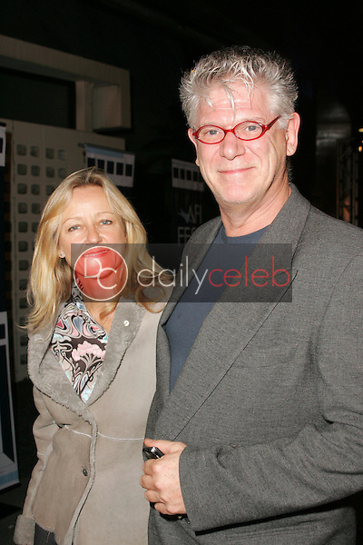 J. Peter Robinson and wife Denise<br />at the AFI FEST 2005 premiere of &quot;The World's Fastest Indian&quot;. ArcLight Hollywood Cinerama Dome, Hollywood, CA. 11-08-05<br />Dave Edwards/DailyCeleb.com 818-249-4998