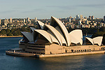 Sydney, New South Wales, Australia; Sydney Opera House, late afternoon, viewed from the Sydney Harbor Bridge © Matthew Meier, matthewmeierphoto.com All Rights Reserved