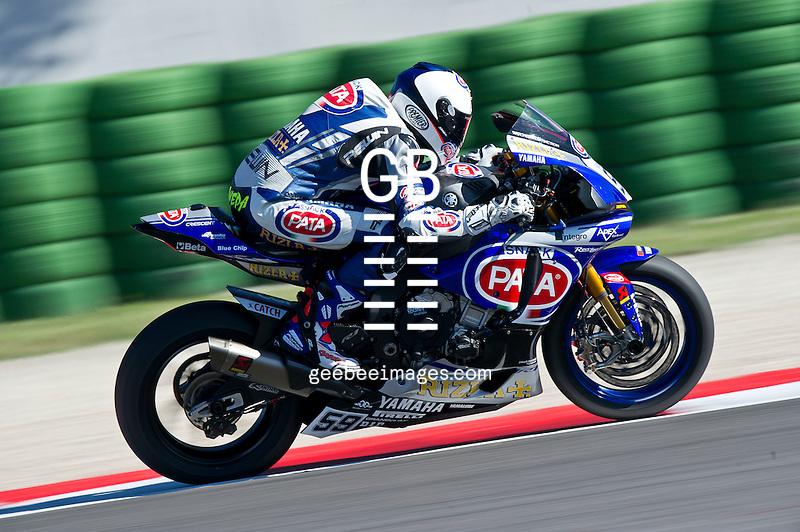 2016 FIM Superbike World Championship, Round 08, Misano, Italy, 16-19 June 2016, Nicolo Canepa, Yamaha