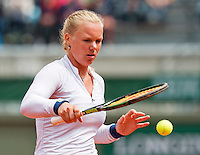 France, Paris , May 26, 2015, Tennis, Roland Garros, Kiki Bertens (NED)<br /> Photo: Tennisimages/Henk Koster