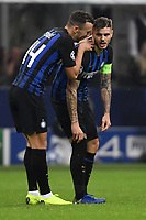 Ivan Perisic of Internazionale and Mauro Icardi of Internazionale during the Uefa Champions League 2018/2019 Group B football match between Internazionale and Barcelona in San Siro stadium, Milano, November, 06, 2018 <br />  Foto Andrea Staccioli / Insidefoto