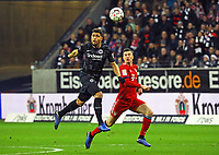 Simon Falette (Eintracht Frankfurt) gegen Robert Lewandowski (FC Bayern Muenchen) - 22.12.2018: Eintracht Frankfurt vs. FC Bayern München, Commerzbank Arena, DISCLAIMER: DFL regulations prohibit any use of photographs as image sequences and/or quasi-video.