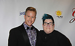"One Life To Live Lea Delaria poses with Andrew Werner (photographer) at the Imperial Court of New York's 26th ""Night of a Thousand Gowns"" on March 31, 2012 at the New York Marriott Marquis, New York City, New York.  (Photo by Sue Coflin/Max Photos)"