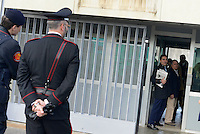 Roma, 19 Novembre 2015<br /> Giordano Tredicine entra in tribunale<br /> Aula bunker di Rebibbia<br /> Terza udienza del processo Mafia Capitale, Roma Capitale, avvocati,