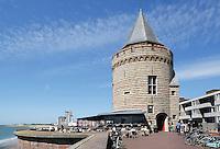 De Gevangentoren aan de Boulevard de Ruyter in Vlissingen