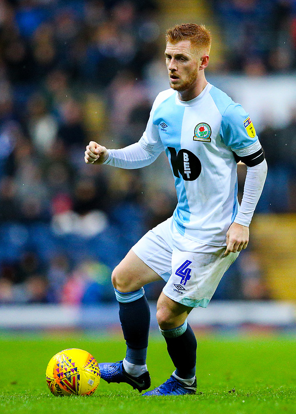 Blackburn Rovers' Harrison Reed<br /> <br /> Photographer Alex Dodd/CameraSport<br /> <br /> The EFL Sky Bet Championship - Blackburn Rovers v Queens Park Rangers - Saturday 3rd November 2018 - Ewood Park - Blackburn<br /> <br /> World Copyright © 2018 CameraSport. All rights reserved. 43 Linden Ave. Countesthorpe. Leicester. England. LE8 5PG - Tel: +44 (0) 116 277 4147 - admin@camerasport.com - www.camerasport.com
