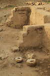 Archaeological excavations at Tel Jericho (Tel a-Sultan) exposed remains of settlement activity from as early as the Epipaleolithic period (9,500-7,800 BC)