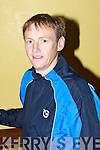Pádraig Regan..............at  the Kilmoyley team press night ahead of the County Hurling Final