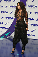 INGLEWOOD, CA - August 27: Demi Lovato, At 2017 MTV Video Music Awards At The Forum in Inglewood In California on August 27, 2017. Credit: FS/MediaPunch
