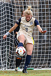 27 October 2013: Pittsburgh's Caroline Keefer. The Duke University Blue Devils hosted the Pittsburgh University Panthers at Koskinen Stadium in Durham, NC in a 2013 NCAA Division I Women's Soccer match. Duke won the game 6-3.