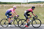 The peloton including Ivan Ramiro Sosa Cuervo (COL) Team Ineos and Sacha Modolo (ITA) EF Education First during Stage 1 of the Route d'Occitanie 2019, running 175.5km from Gignac-Vallée de l'Hérault to Saint-Geniez-d'Olt-et-d'Aubrac , France. 20th June 2019<br /> Picture: Colin Flockton | Cyclefile<br /> All photos usage must carry mandatory copyright credit (© Cyclefile | Colin Flockton)