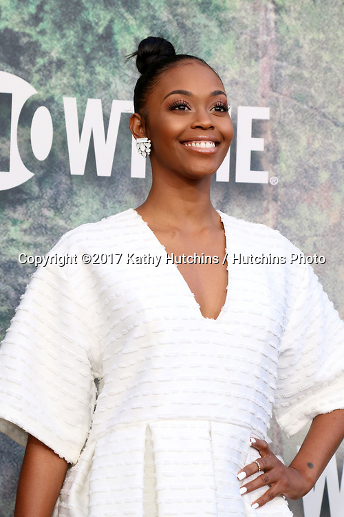 """LOS ANGELES - MAY 19:  Nafessa Williams at the """"Twin Peaks"""" Premiere Screening at The Theater at Ace Hotel on May 19, 2017 in Los Angeles, CA"""