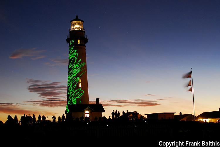 Pigeon Point Lighthouse, laser lighting