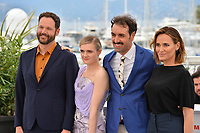 """CANNES, FRANCE. May 17, 2019: Kyle Marvin. Gayle Rankin, Michael Angelo Covino & Judith Godreche at the photocall for the """"The Climb"""" at the 72nd Festival de Cannes.<br /> Picture: Paul Smith / Featureflash"""