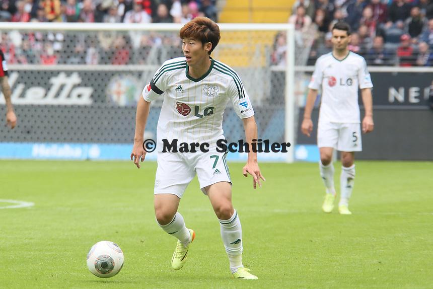 Heung Min Son (Bayer) - Eintracht Frankfurt vs. Bayer Leverkusen, Commerzbank Arena