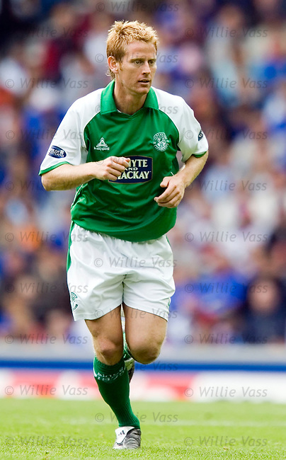 Michael Stewart, Hibs.stock season 2005-2006.pic willie vass