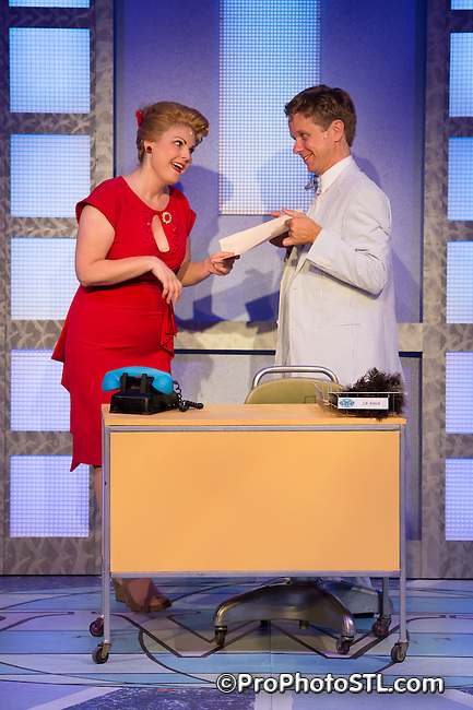 How to Succeed in Business Without Really Trying presented by STAGES St. Louis at Robert G. Reim Theater at Kirkwood Civic Center in Kirkwood, MO on July 17, 2014.