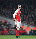 Arsenal's Rob Holding looks on dejected during the EFL Cup match at the Emirates Stadium, London. Picture date October 30th, 2016 Pic David Klein/Sportimage