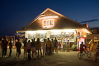Mac's Seafood shack, Wellfleet, MA summer evening