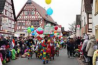 TV Erfelden als Clowns - Büttelborn 11.02.2018: Rosensonntagsumzug der BCA
