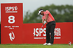 Tongchai Jaidee hits his drive on the 8th during the final round of the ISPS Handa Wales Open 2012..03.06.12.©Steve Pope