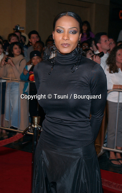 NonA Gaye arriving at the Muhammad Ali 60Th Birthday Celebration at the Kodak Theatre in Los Angeles. January 12, 2002.           -            GayeNona02.jpg