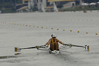 Poznan, POLAND.  2006, FISA, Rowing, World Cup,  AUS2 W2X  bow Dana FALETIC and  Sally KEHOE, moves  away from  the  start, on the Malta  Lake. Regatta Course, Poznan, Thurs. 15.05.2006. © Peter Spurrier   .[Mandatory Credit Peter Spurrier/ Intersport Images] Rowing Course:Malta Rowing Course, Poznan, POLAND